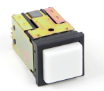 Switchcraft Push Lite, Front Mount Square Pushbutton Switches    